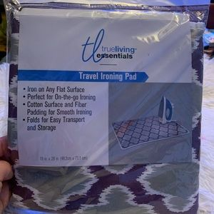 Travel ironing board